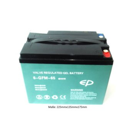 Batterie 12V 65Ah für Elektrohubwagen IMOW E-BF