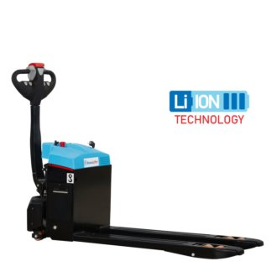 HanseLifter Voll- Elektrohubwagen, Lithium Festakku, Tragf.: 1.500 kg, Eigengewicht: 190 kg, Typ E-LI-WALK15-08