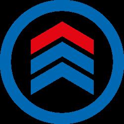 KS TOOLS MASTERline Werkstattwagen mit 4 Schubladen, blau/silber