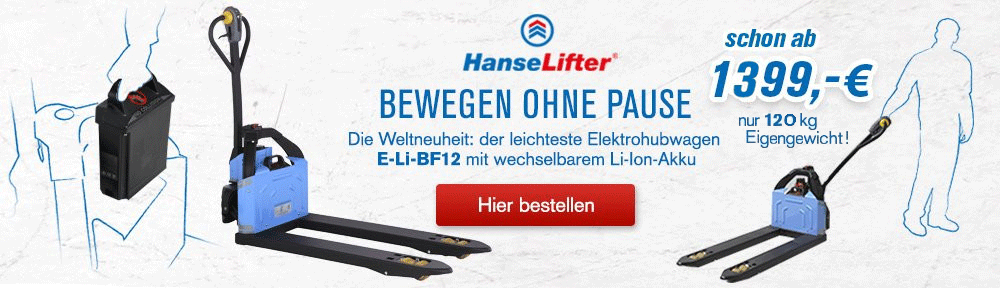 HanseLifter Elektrohubwagen E-Li-BF12