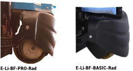 HanseLifter Elektrohubwagen E-LI-BF-Rad
