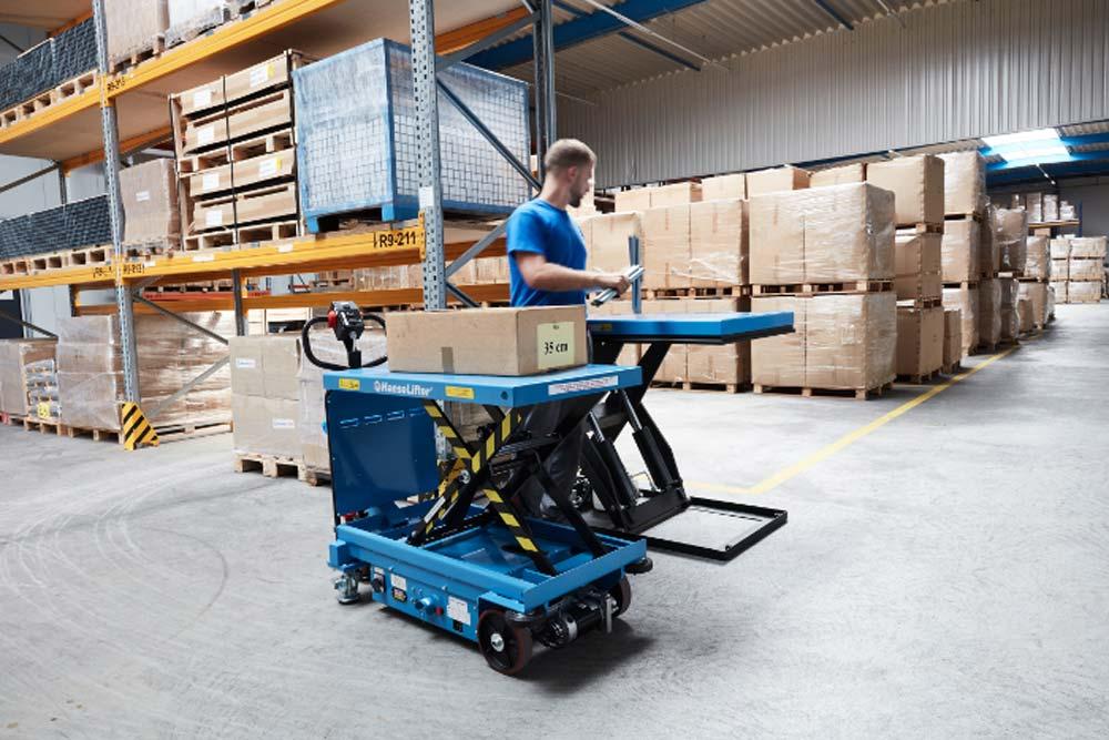 HanseLifter elektrischer Hubtischwagen E-SPA500